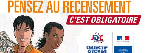 Recensement des jeunes de 16 ans – Journée «Défense et citoyenneté»