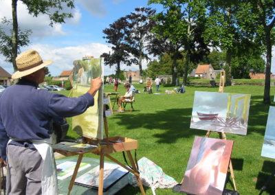Rencontres artistiques en Montreuillois
