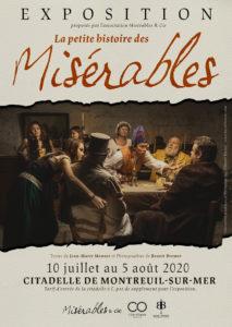 EXPOSITION la petit histoire des misérables @ citadelle, arsenal