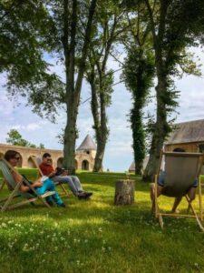 Contes sous les arbres, Contes d'été (conte et musique) @ Citadelle