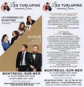 Les turlupins présentent 2 pièces @ Théatre de Montreuil