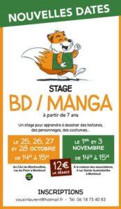 STAGE DE BD/MANGA @ CAJ du Montreuillois
